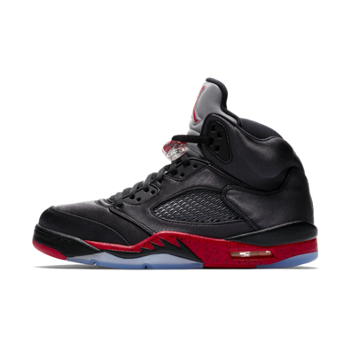Air Jordan 5 Satin 'Black & Red' productafbeelding