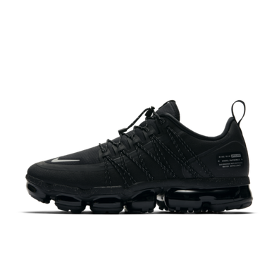 Nike Air VaporMax Run Utility 'Triple Black' productafbeelding