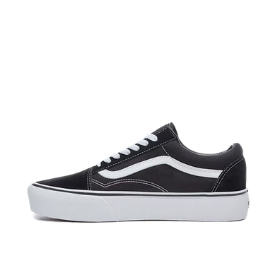 VANS Old Skool Platform Black/White productafbeelding