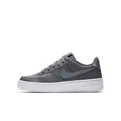 Nike Air Force 1 GS Gunsmoke Grey Junior productafbeelding