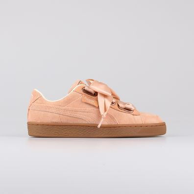 Puma Basket Heart Corduroy Coral Wmns productafbeelding