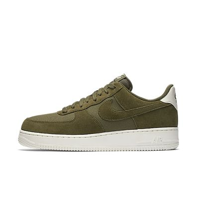 Nike Air Force 1 '07 Suede Medium Olive productafbeelding