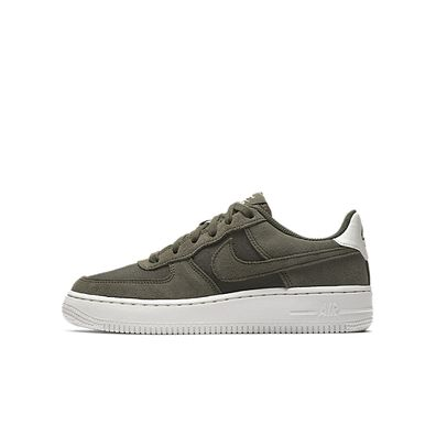 Nike Air Force 1 Suede Medium Olive GS productafbeelding