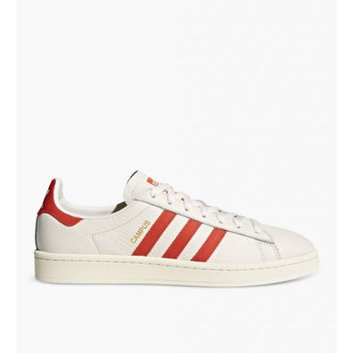 Adidas Campus Chalk White Bold Orange Cream White productafbeelding