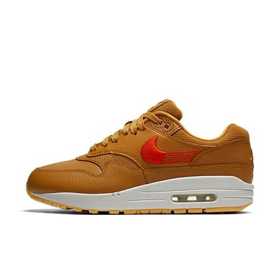 Nike W Air Max 1 Premium  Wheat Team Orange Gum Yellow productafbeelding