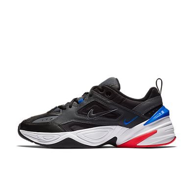 Nike M2K Tekno Dark Grey Black Baroque Brown Racer Blue productafbeelding