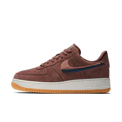 Nike Air Force 1 '07  Smokey Mauve Gum Yellow productafbeelding