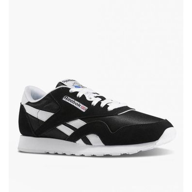 Reebok CL Nylon Black White productafbeelding