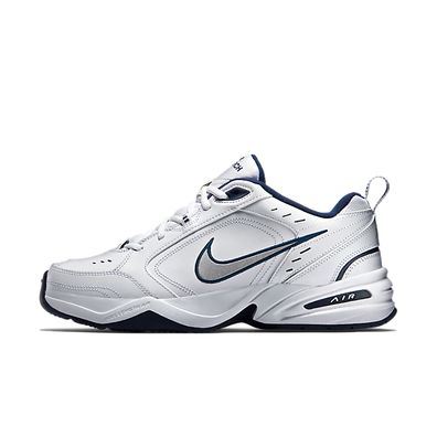 Nike Air Monarch IV White Metallic Silver productafbeelding