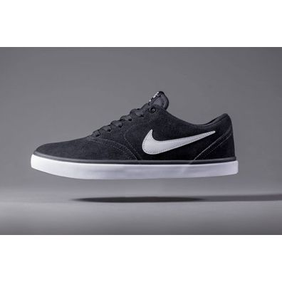 NIKE SB Check Solarsoft Black White productafbeelding