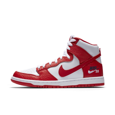 Nike SB Zoom Dunk High Pro University Red productafbeelding
