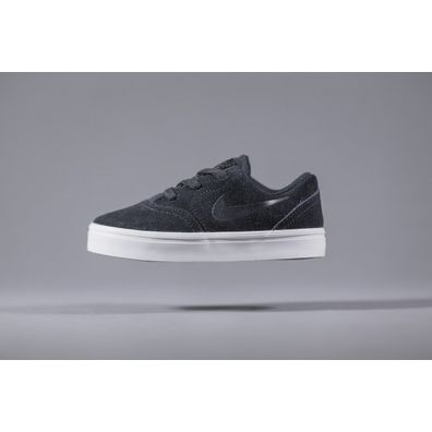 Nike SB Kids Check Suede (TD) Black productafbeelding