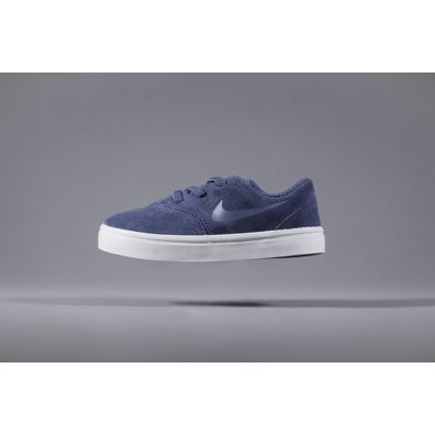Nike SB Kids Check Suede (TD) Navy productafbeelding