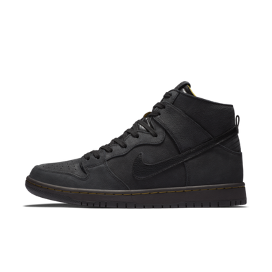 Nike SB Zoom Dunk HIgh Pro Decon PRM Black productafbeelding