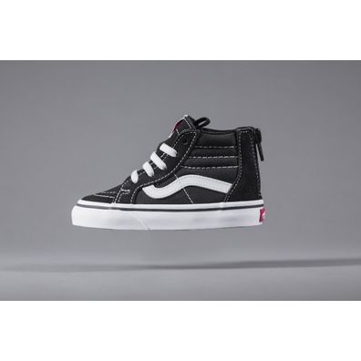 Vans Toddler SK8-Hi Zip Black productafbeelding
