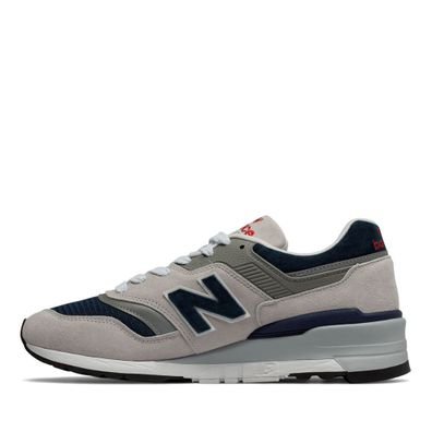 New Balance M997 WEB - Grey / Navy productafbeelding