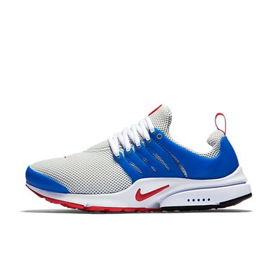 Nike Air Presto Essential - Dusty Grey / University Red - Hyper Cobalt productafbeelding