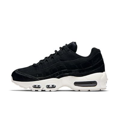 Nike Wmns Air Max 95 LX - Black / Black - Dark Grey - Sail productafbeelding
