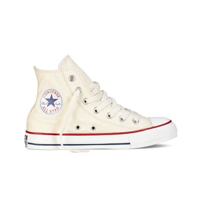 Converse All Star Hi Unbleached White productafbeelding