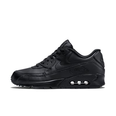 Nike Air Max 90 Leather 'Triple Black' productafbeelding