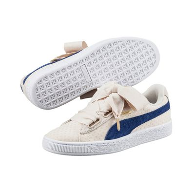 Puma Basket Heart Denim productafbeelding