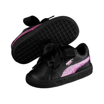 Puma Basket Heart Bling PS productafbeelding