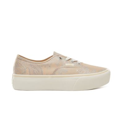 vans authentic platform roze