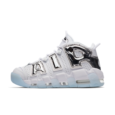 "Nike Air More Uptempo ""White/Chrome"" productafbeelding"