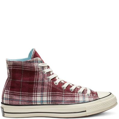 Converse Chuck 70 Elevated Plaid High Top productafbeelding