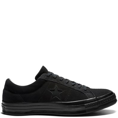 One Star Suede Triple Black Low Top productafbeelding