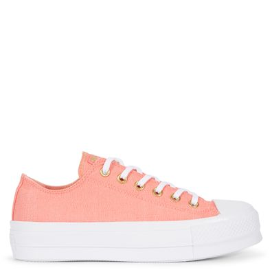 Chuck Taylor All Star Lift Washed Linen productafbeelding