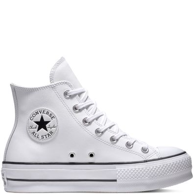 Chuck Taylor All Star Lift Leather High Top productafbeelding