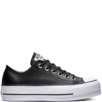 a5696699ede Chuck Taylor All Star Lift Clean Leather Low Top