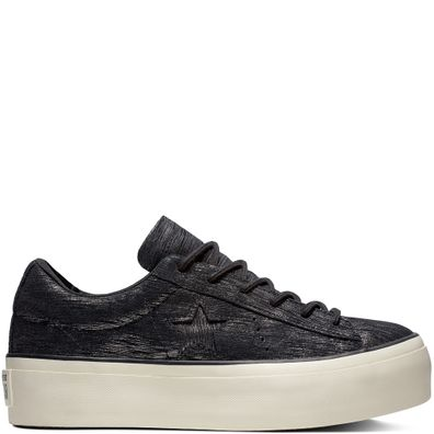 One Star Platform Metallic Suede Low Top productafbeelding