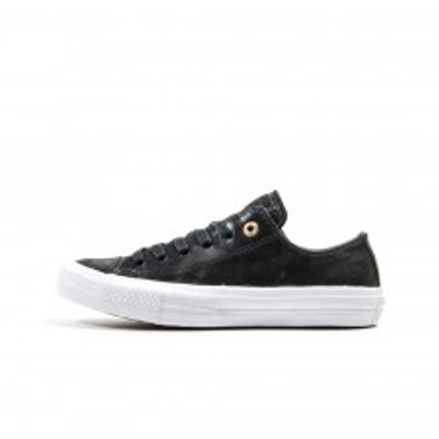 Converse All Star 2 Ox Womens Craft Leather - Black productafbeelding