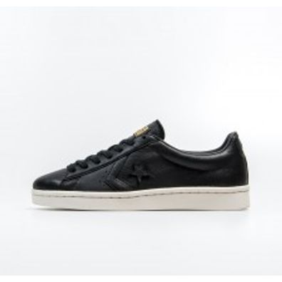 Converse Pro Leather 76 Ox - Black productafbeelding