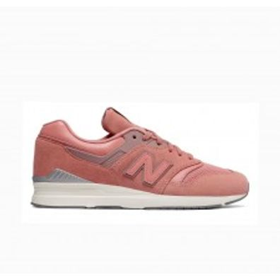 New Balance WL697CM Leather Womens - Pink productafbeelding