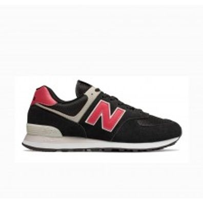 New Balance ML574SMP - Black productafbeelding