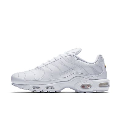 Nike Air Max Plus TN Leather - White productafbeelding