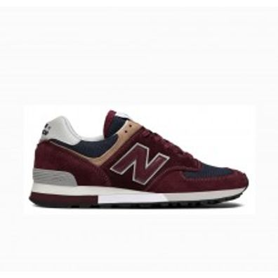 New Balance OM576OBN OG Pack - Burgundy - Made In UK productafbeelding