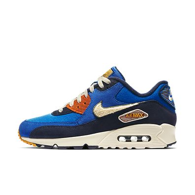 Nike Air Max 90 Premium SE - Terry Pack - Game Royal productafbeelding