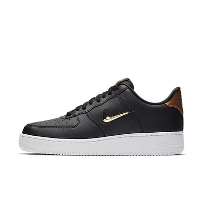 Nike Air Force 1 '07 LV8 Leather - Black Gold productafbeelding