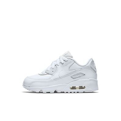 Nike Air Max 90 Leather Kleuterschoen - Wit productafbeelding