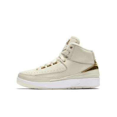 Air Jordan 2 Q54 Big Kids' Shoe (3.5y-7y) - Cream productafbeelding