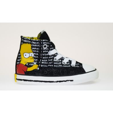 Converse Chuck Taylor All Star Simpson Hi Canvas (INFANT) productafbeelding