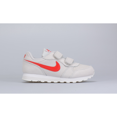 Nike MD Runner 2 (PSV) (Grey / Red) productafbeelding
