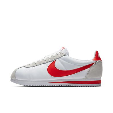 Nike Classic Cortez Nylon (White / Red) productafbeelding
