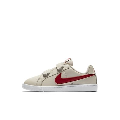 Nike Court Royale (PSV) (Beige /Red) productafbeelding