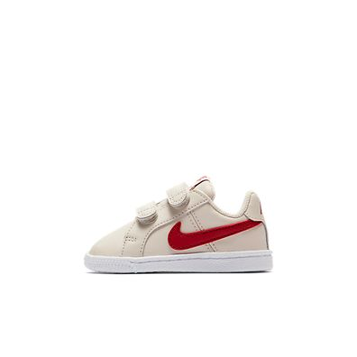 Nike Court Royale (TDV) (Beige / Red) productafbeelding