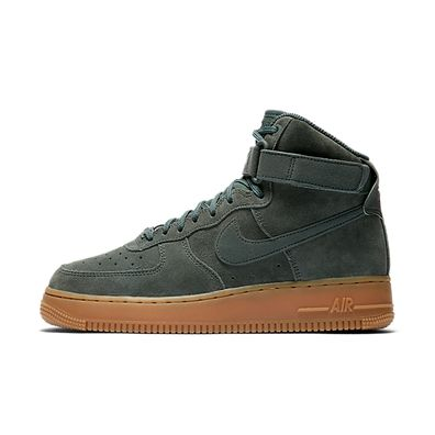 Nike Wmns Air Force 1 HI SE (Green) productafbeelding